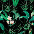 Mind the Gap Palm Springs Anthracite Wallpaper WP20360
