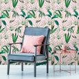 Mind the Gap WP20361 Pink Palm Springs Wallpaper