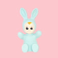 Mint Goodnight Light Baby Bunny Lamp