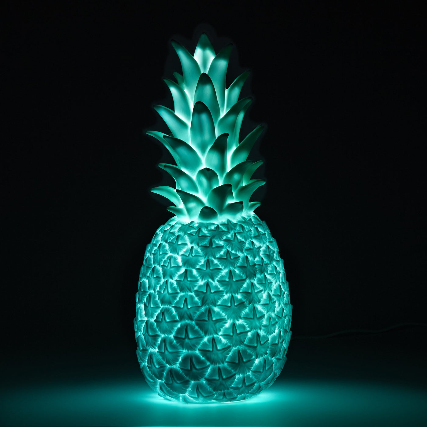 Mint Green Pineapple Lamp Goodnight Light