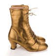 Miss L Fire Gold Frida Boots