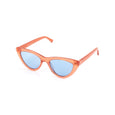 Narrow Cat Eye Sunglasses with Blue Frames by Pala