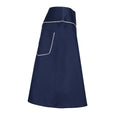 Navy Knee Length Skirt Suzy