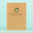 Ohh Deer Chip & Dip Enamel Pin Greetings Card