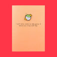 Ohh Deer Enamel Pin Greetings Card Chips Dip