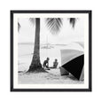 On the Beach Framed Print Mind the Gap