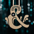 Perspex Ampersand Hanging Decoration
