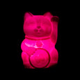 Pink Lucky Cat Light Mustard