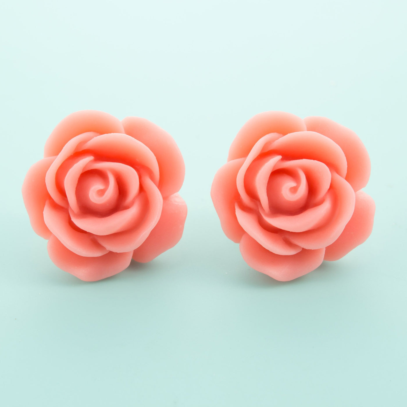 Pink Rose Earrings Dollydagger