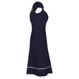 Polly Navy Gypsy Style Dress