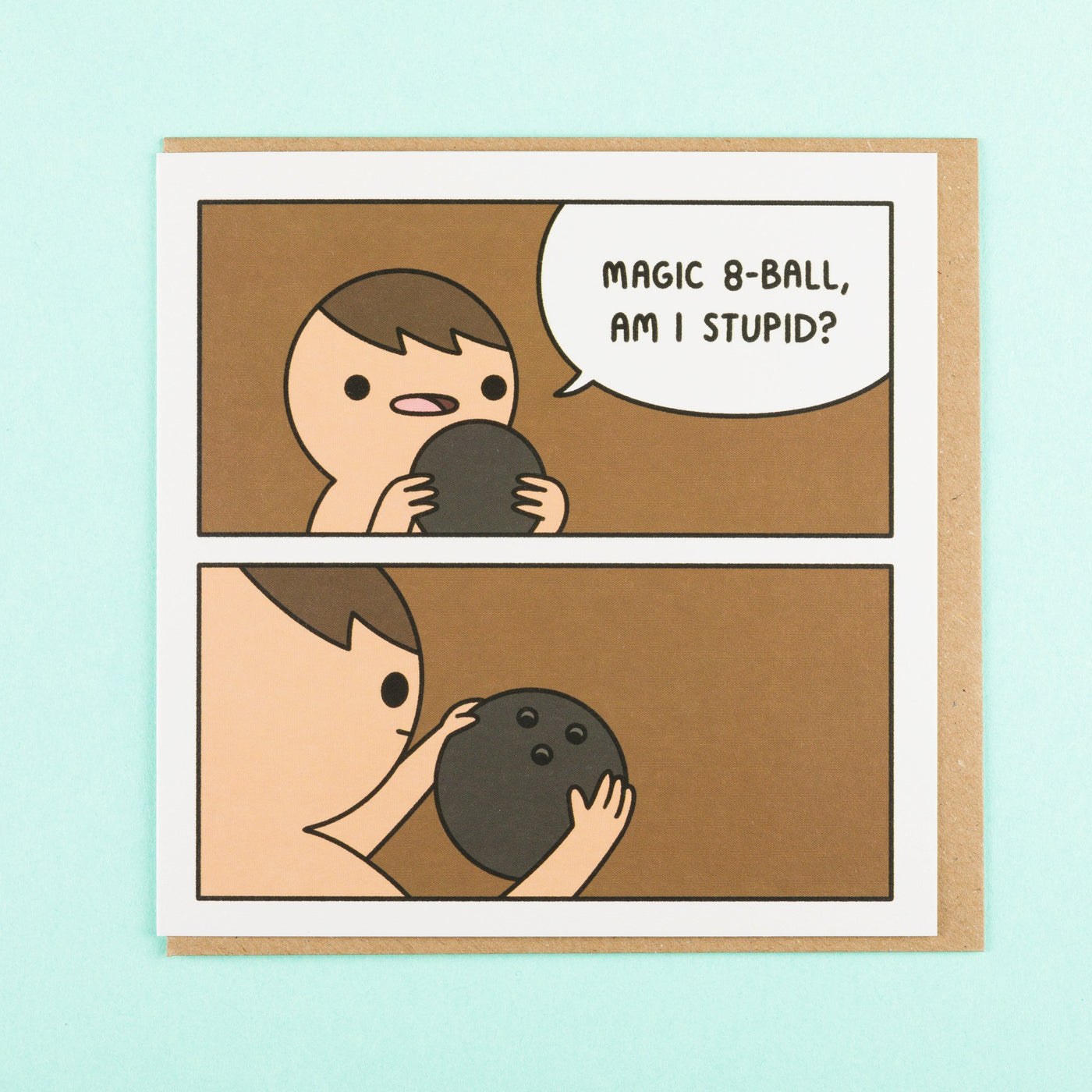Magic 8 Ball Quirky Card by Ohh Deer