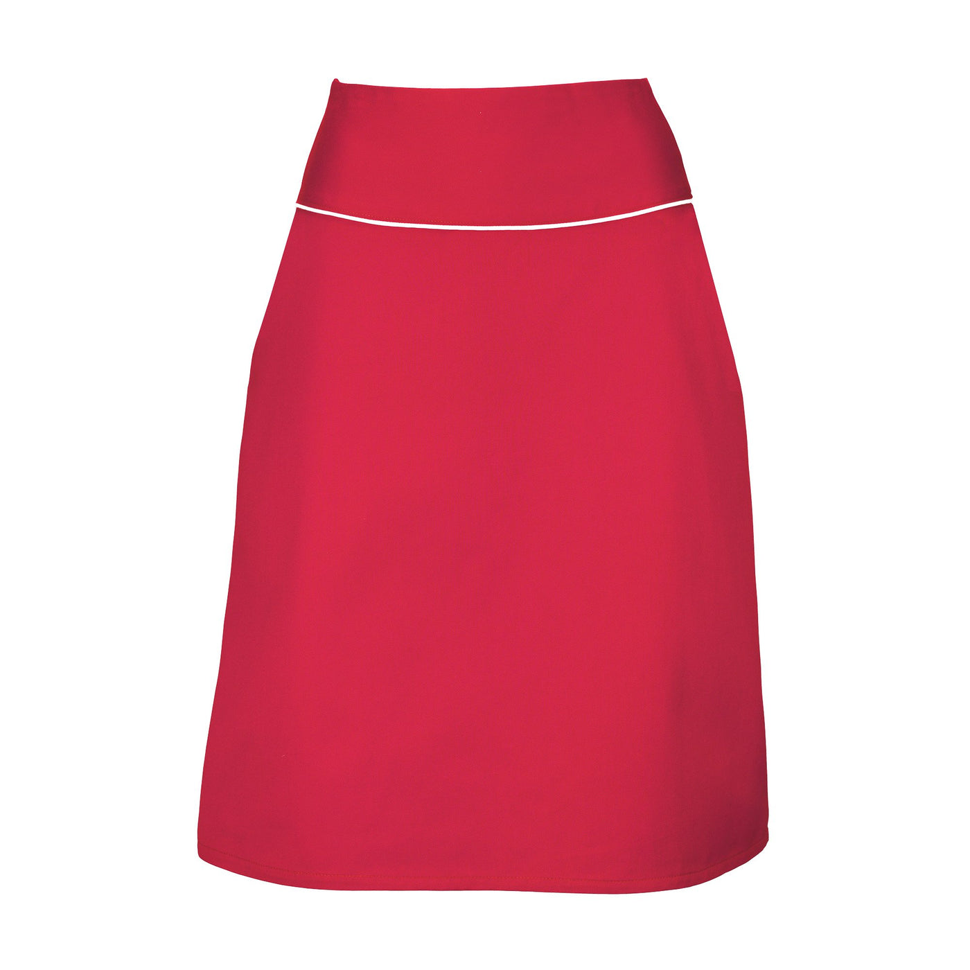 Red A-Line Skirt Suzy Dollydagger