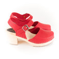 Red Clog Shoes by Lotta from Stockholm at Dollydagger