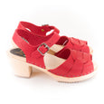 Red Sandal Clogs by Lotta from Stockholm at Dollydagger