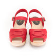 Red Swedish Clogs by Lotta from Stockholm at Dollydagger