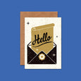 Retro Greeting Card Hello by Telegramme