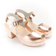 Rose Gold Stylish Clogs by Lotta from Stockholm at Dollydagger