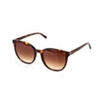Round Tortoiseshell Cat Eye Sunglasses Nkiru Pala