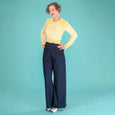 Sailor Trousers Navy Blue Ship Mate Slacks Emmy Design