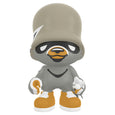 Grey Limited BunkerJanky Vinyl Art Toy by Flying Fortress for Superplastic