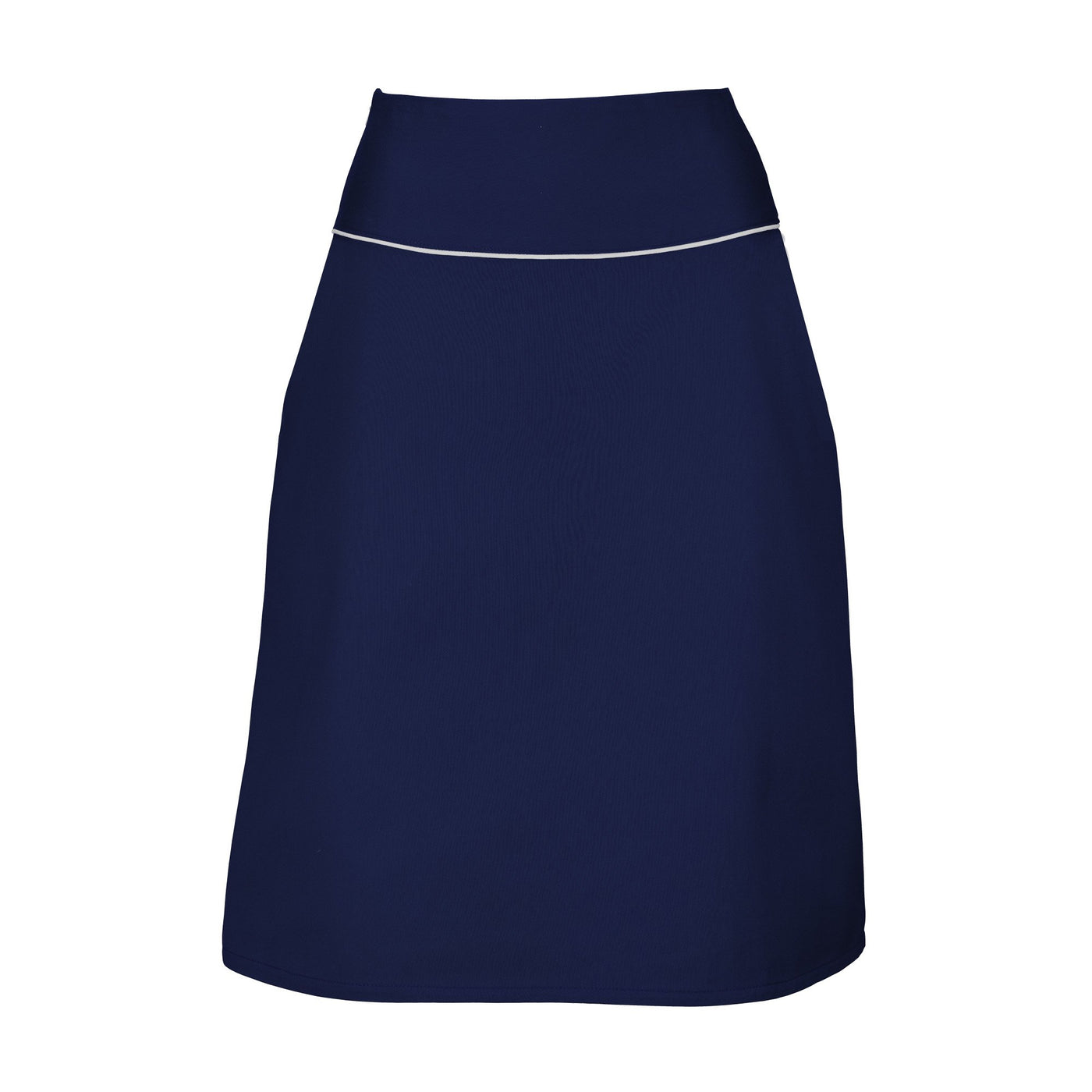 Suzy Navy A-Line Skirt