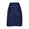 Suzy Navy Blue A-Line Skirt