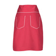 Suzy Red Knee Length Skirt Dollydagger