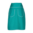 Suzy Turquoise A-Line Skirt