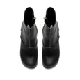 Swedish Hasbeens Black Clog Boots