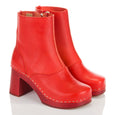 Swedish Hasbeens Red 1960s Boots