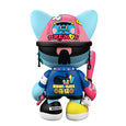 Tado Dremon SuperJanky by Superplastic Pink Blue Yellow