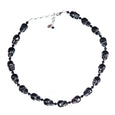 Tarina Tarantino Black Skull Necklace