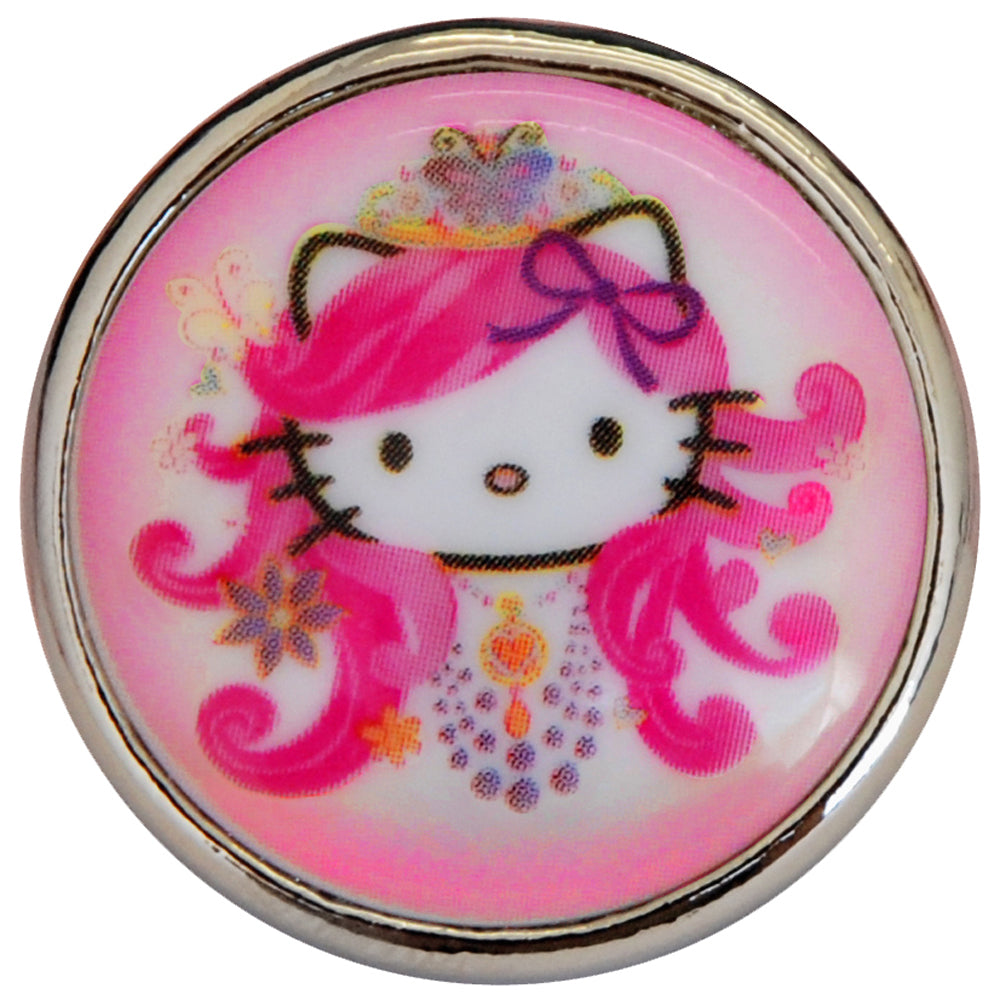 Super Sized Hello Kitty Cameo Ring