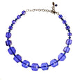 Tarina Tarantino Royal Blue Beaded Choker