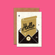 Telegramme Hello Retro Greetings Card
