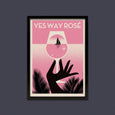 Telegramme Yes Way Rose Limited Edition A2 Screen Print
