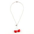 Tina Lilienthal Cherry Pendant Necklace