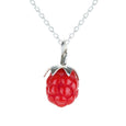 Tina Lilienthal Raspberry Pendant Necklace