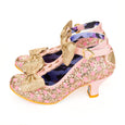 Total Freedom Shoes Gold Irregular Choice