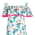 Tropical Maxi Dress Flamingo Dollydagger