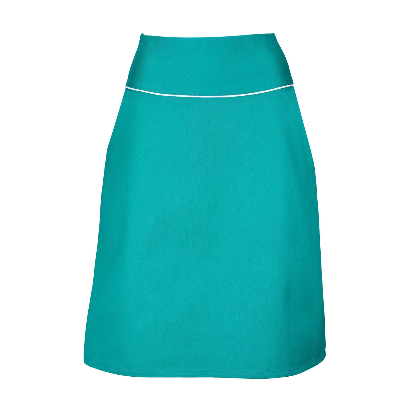 Turquoise A-Line Skirt Suzy