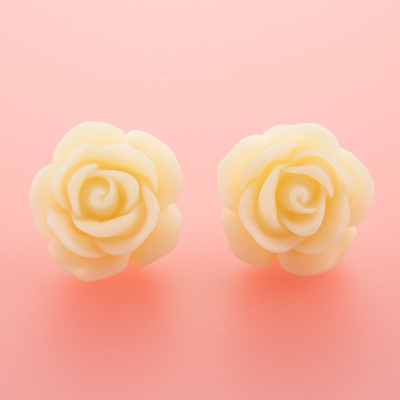 White Rose Earrings Dollydagger