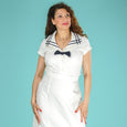 White Sailor Top by Emmy Design