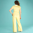 Yellow Cotton Trousers Ship Mate Slacks Emmy Design