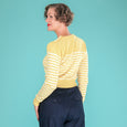 Yellow Stripe Jumper Emmy Design