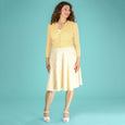 Yellow Summer Cardigan Delightful Daytime by Emmy