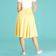 Yellow Swing Skirt Emmy Design Swirly Sweetheart