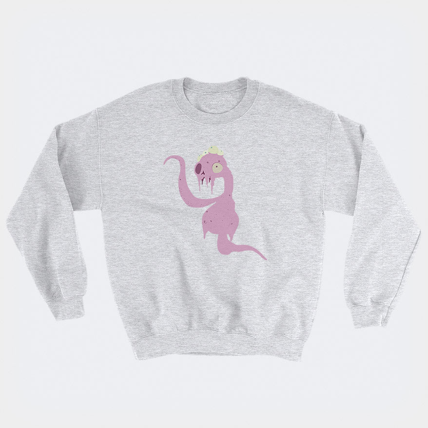 Pink Alien Sweatshirt - Space Lake