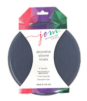 Aprons By Jem Silicone Trivet, 8 inch, Made In The USA
