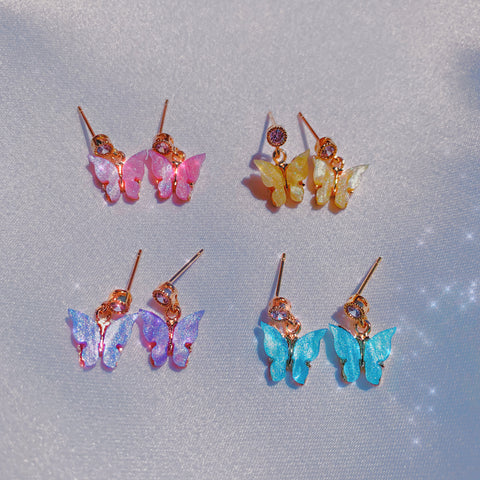 Angel Babies Stud Earrings